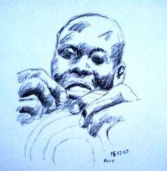 sewing sketch (December 2007)