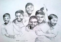 bunch of Sri Lankan kids (December 2007)