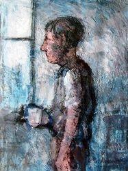 Man by a window (no date)