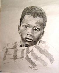 Dagomba boy, Africa
