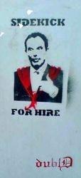 Sidekick for hire (Tony Blair), Stone, 2007