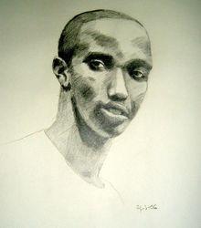 sketch of Lee, Kigali, Rwanda