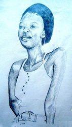 sketch of Lenatha, Kigali, Rwanda