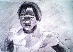 Haitian girl (April 2010)