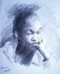 Pensive lady (5-4-10)