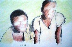 Two Zimbabwe girls (5-4-10)