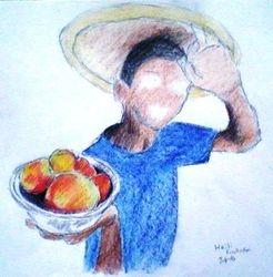 Fruit seller, Haiti (7-4-10)