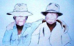 2 buddies deep south 1940s (5-4-10)