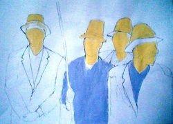 four great gentlemen of africa (august 2009)