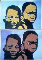 2 colombian kids (august 2009)