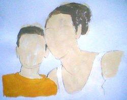 shardia and harvey (quick sketch, september 2009)