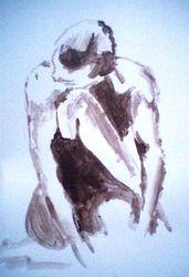 paint sketch in brown (november 2009)