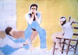 3 boys on a porch 1930s (december 2009)