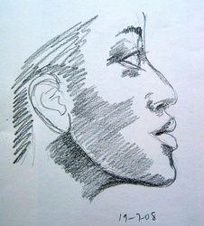 lady's profile