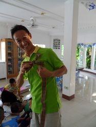 Manop making bows