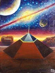 Piramida din zona Cydonia de pe Marte