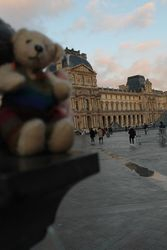 Jimmy at the Louvre Paris 2016