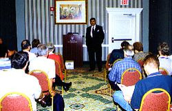 Michael Gilson speaks at 1999 LPF Convention