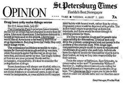 Daryl Henegar LIB St Times Press Mention