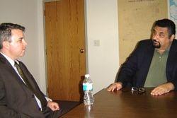 New Port Richey Libertarian Mayor, Scott McPherson Meets MIchael Gilson