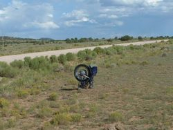 Death of a Moter Bike!