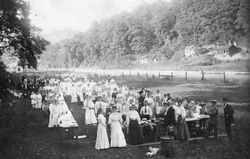Sunday school picnic wall ave 1907
