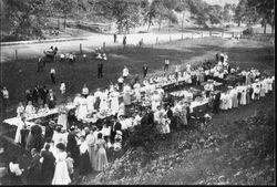 Sunday school picnic wall ave 1907