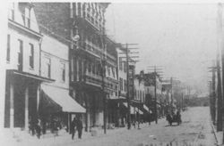 Broadway in 1909