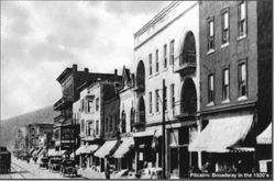 Broadway in Pitcairn. 1920