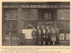 Pitcairn Post Office, c. 1940