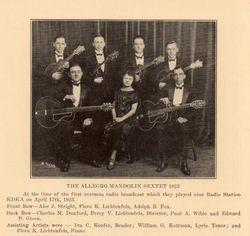 Pitcairn's Allegro Mandolin Sextet