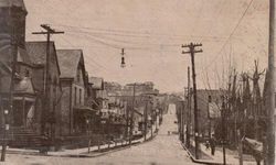 Third Street in Pitcairn, 1908