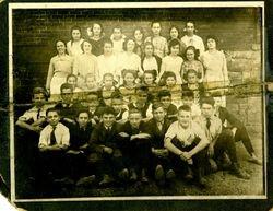 Pitcairn High School c. 1921