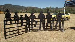 COWBOY DOUBLE & PEDESTRIAN GATES