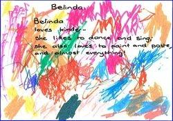 Belinda Loves Kinder