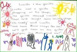 Lucilla and the Gorilla