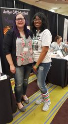 Author Winter Tavers and I