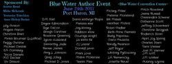 Blue Water Author Event 2017