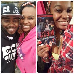 Author DeAndre Walker and I