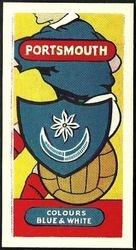 Portsmouth Club Card 1958