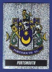 Portsmouth Club Crest Foil 1997