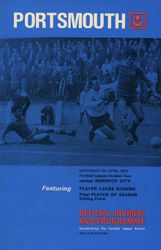 Portsmouth FC Programme 1969-70