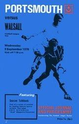 Portsmouth FC Programme 1970-71
