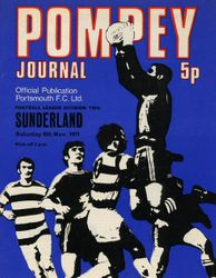 Portsmouth FC Programme 1971-72