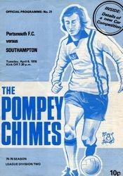 Portsmouth FC Programme 1975-76