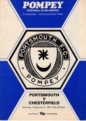 Portsmouth FC Programme 1976-77