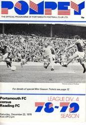 Portsmouth FC Programme 1978-79