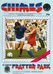 Portsmouth FC Programme 1984-85