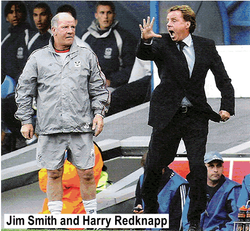 Jim Smith and Harry Redknapp