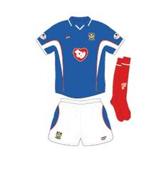 Pompey Kit 2002 - 2003